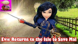 Evie Returns to the Isle to Save Mal - Part 40 - Descendants Reversed Disney