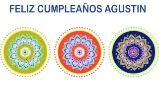 Agustin   Indian Designs - Happy Birthday