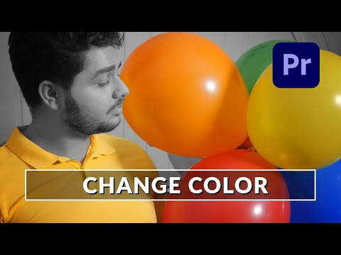 How To Change Color in Adobe Premiere Pro - Tutorial (Like Zach King) thumbnail