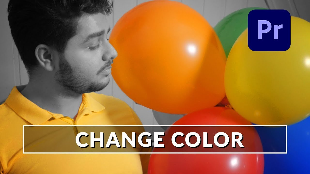 How To Change Color in Adobe Premiere Pro - Tutorial (Like Zach King)