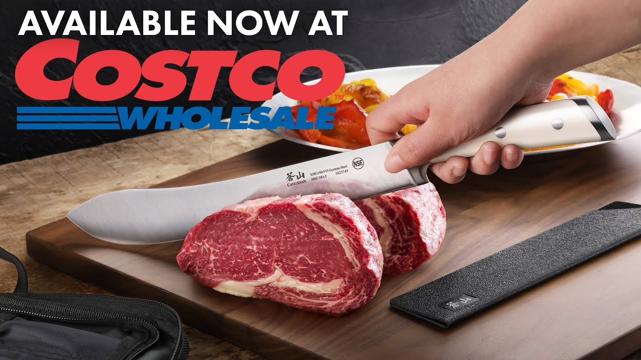 Cangshan Cutlery Proudly Sold At Costco! - YouTube
