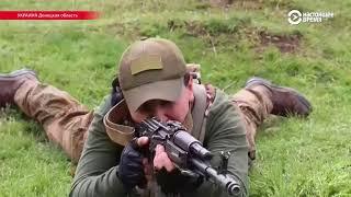 Инструктор из Израиля учит украинскую армию