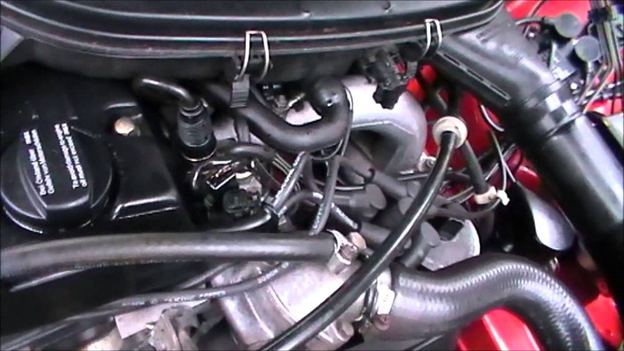 Mercedes M102 230ce Bad Engine Noise Youtube