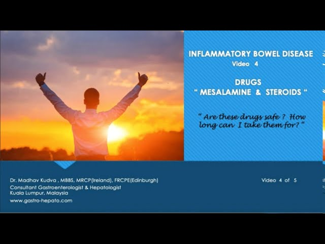 INFLAMMATORY BOWEL DISEASE - MESALAMINE AND STEROIDS
