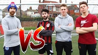 3 on 1 PENALTY SHOOTOUT CHALLENGE!!
