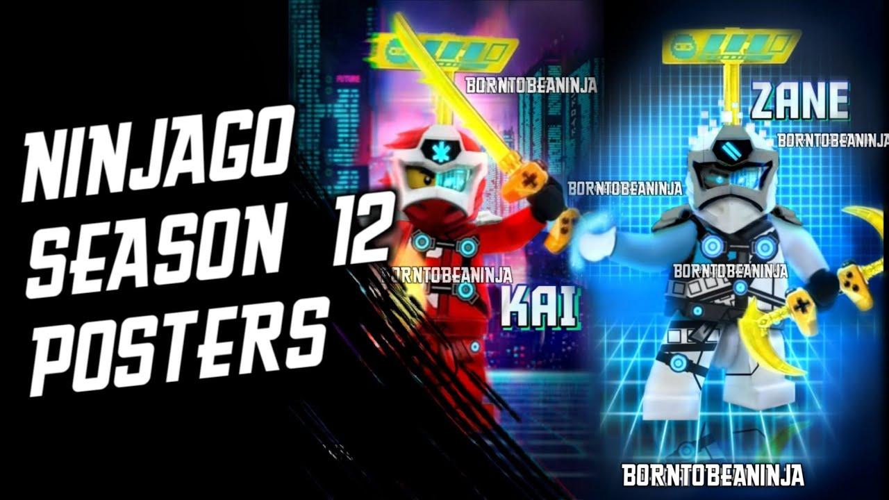NINJAGO SEASON 12 - POSTERS (Fan-Made Arts by Born Ninja ...