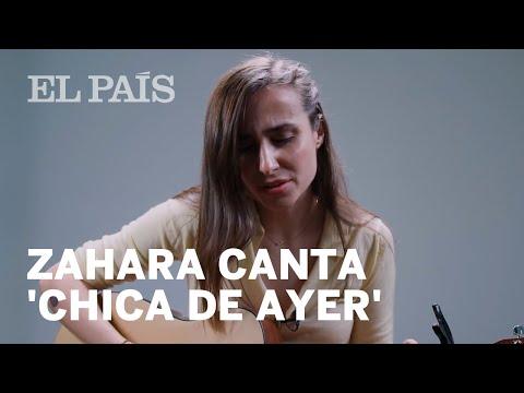 Zahara Canta 'Chica De Ayer', De Antonio Vega
