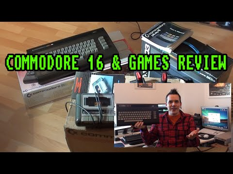 Commodore 16 and Games Review