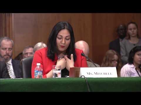 Taleah Mitchell from Seattle, WA Testifies at Senate HELP Committee Hearing