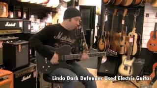 Lindo Dark Defender Used Electric Guitar