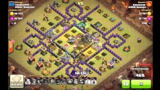 Clash of Clans Karabear attack 1 Silent Darkfall War 47