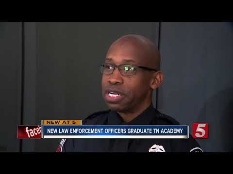 New Class Of Officers Graduate TN Law Enforcement Training Academy