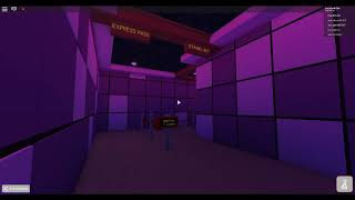 Stu's Disco Coaster queue area music at Universal Studios Roblox