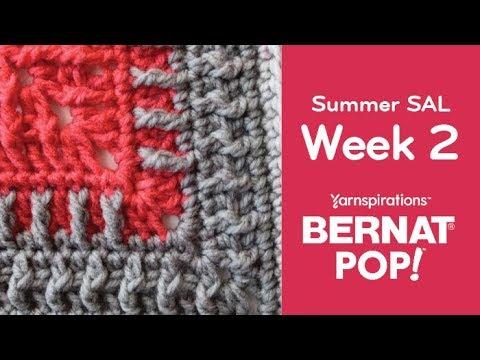 Crochet Summer Stitch Along: Week 2