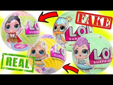 FAKE LOL Surprise Dolls + Lil Sisters New Rainbow Castle at Nursery Baby School