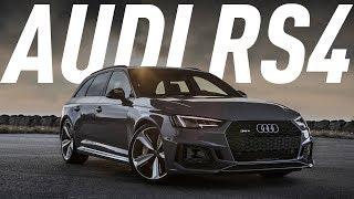 Дикий Сарай/Audi Rs4 Avant 450 Л.С./Большой Тест Драйв