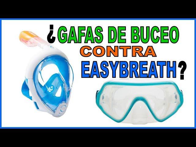 e6737f552 Gafas de buceo versus Easybreath de SUBEA. Antes de comprar tus gafas  tienes que ver este vídeo.