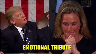 President Trump's emotional tribute to fallen NAVY Seal