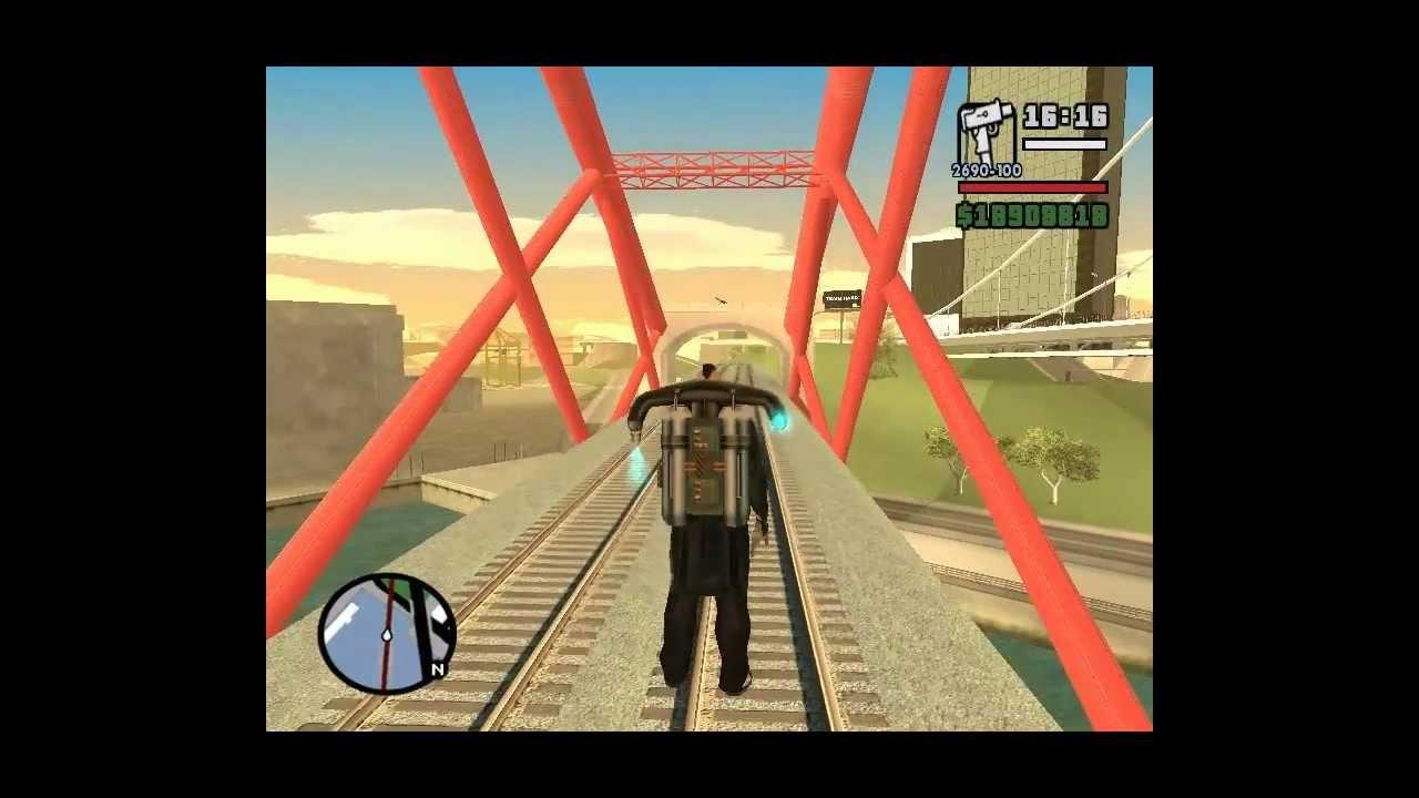 Como Conseguir La Minigun En Gta San Andreas Pc Youtube