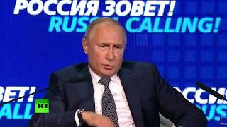 взрывы в 1999 - Путин отвечает Жириновскому