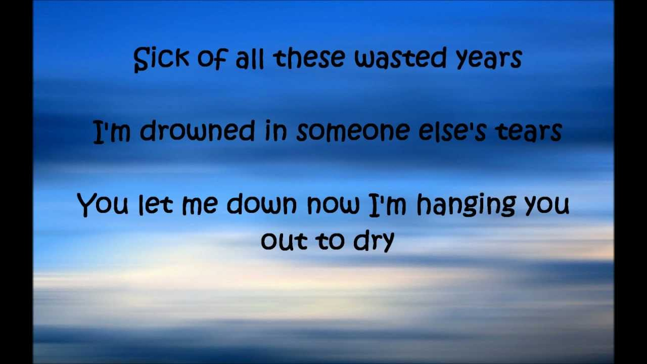 Maroon 5 - Wasted Years Lyrics | MetroLyrics