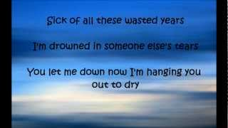 Wasted Years - Maroon 5 (with lyrics)