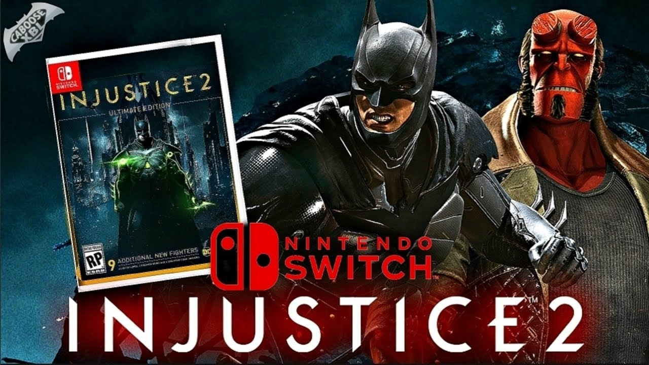 Injustice 2 Coming To Nintendo Switch Youtube