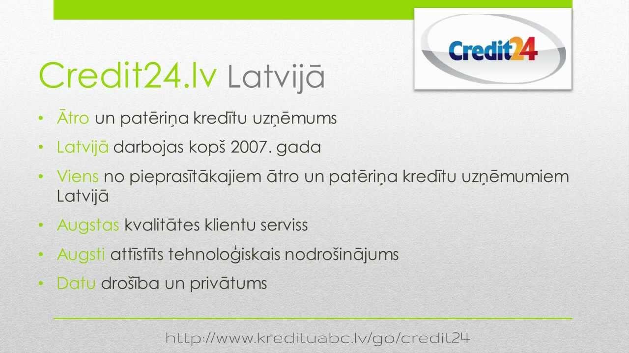 Credit24.lv