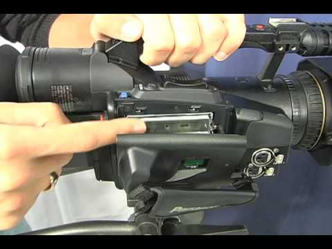 Using the Panasonic DVX-100B