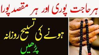 Har Hajat Or Har Maqsad Pura Hone Ki Tasbih Ka Wazifa - Rozana Parhain Or Mojzat Dekhain