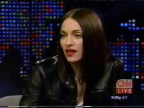 Madonna on Larry King Live 1999 part 1