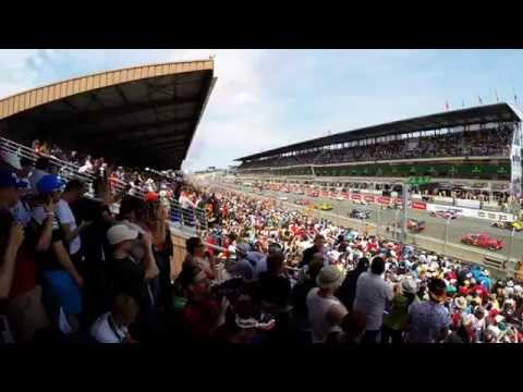 24 Hours of Le Mans 2015 - Race Start and First Lap in 4K
