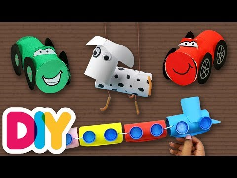 3 Easy PAPER ROLL Craft Ideas you can do this weekend | Fast-n-Easy | DIY Arts & Crafts for Parents