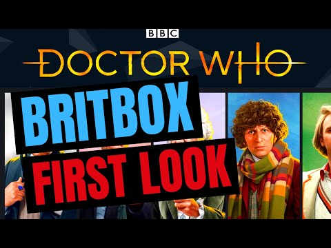 Disappointing First Look At Classic Doctor Who Streaming On BritBox UK! (Britbox Not Working Well)