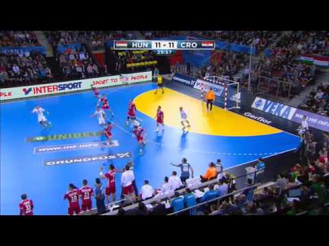 Hungary 28:31 Croatia (Group C) - Highlights | France 2017 Men's Handball World Championship
