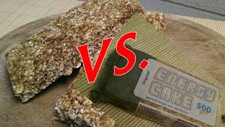 Energy Cake vs. Selfmade Haferriegel