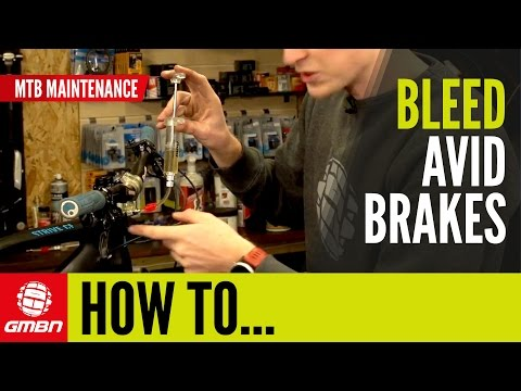 How To Bleed Avid Or SRAM Disc Brakes | Essential Mountain Bike Maintenance