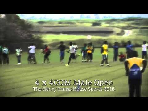 The Henry Inniss Inter-House Sports 2015 - The Lodge School Barbados.