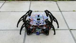 Arduino hexapod: Bajdupod 996R