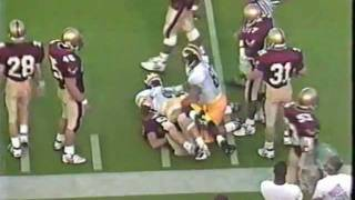 1991: Michigan 35 Boston College 13