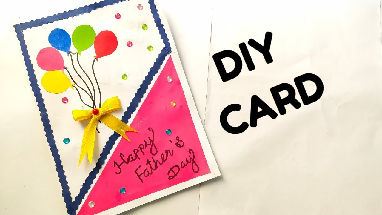Father S Day Easy Card Ideas For Kids Handmade Father S Day Card Diy Card Youtube