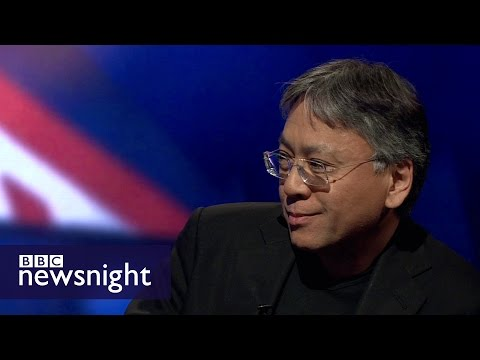 Kazuo Ishiguro on Brexit: The nation is very bitterly divided  - BBC Newsnight