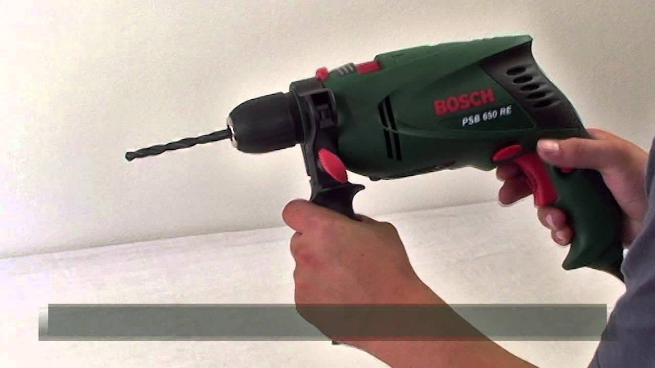bosch psb 650 re impact drill - w444w eng - youtube