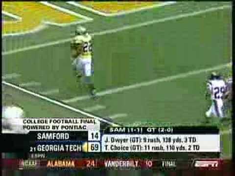 NCAA Football Second Week Of 2007 Season