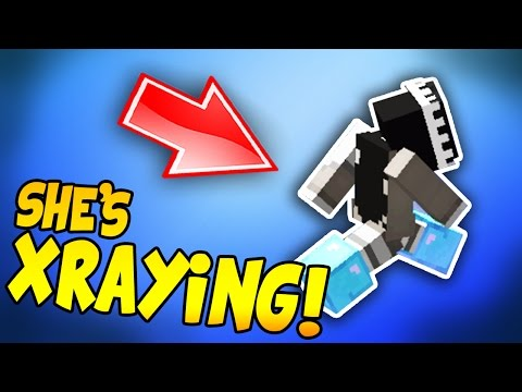 MINECRAFT TRUSTED STAFF MEMBER CAUGHT XRAYING?! (TEAMSPEAK CALLOUT)