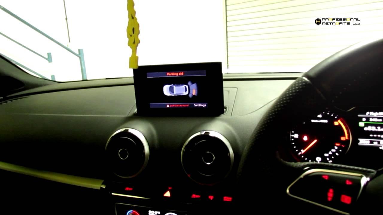 OPS Retrofit Audi A3 8v Rear Optical Parking Sensors