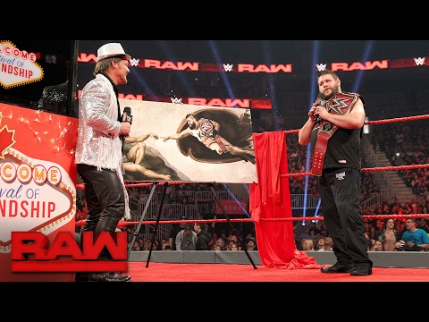 Chris Jericho kicks off the \