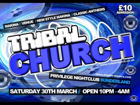 Dj Chrissy-G Mc Kinson & Impulse @ Tribal Church 30.03.2013