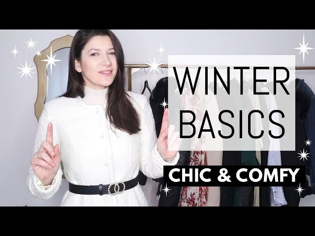 6 WINTER BASICS You NEED To Look Chic & Comfy | Winter Wardrobe