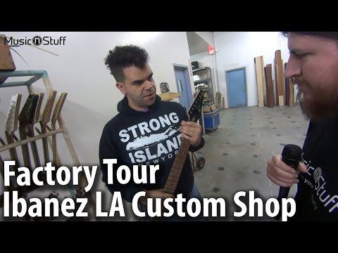 Music nStuff: Besuch im Ibanez LA Custom Shop (Ibanez LACS)